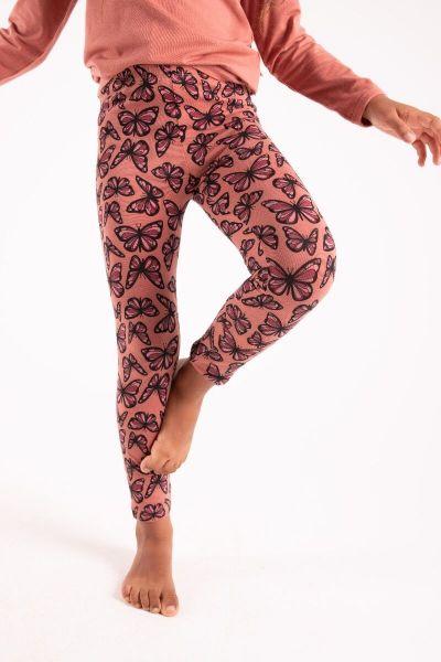 Cheetah Leggings Old Rose FLUTTER