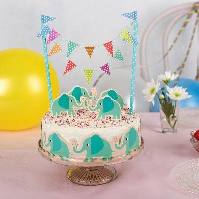 RL Cake Bunting Elvis the elephant