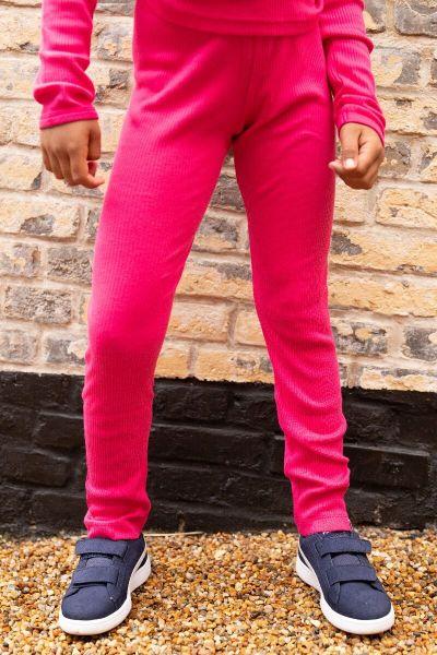 BIFROST - Sirop Leggings Hot Pink Rib