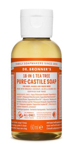 Dr.Bronner's Liquid Soap 60ml Tea Tree