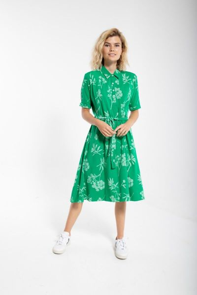 ORGANIC - Fab Dress Green/chalk HEMLOCK