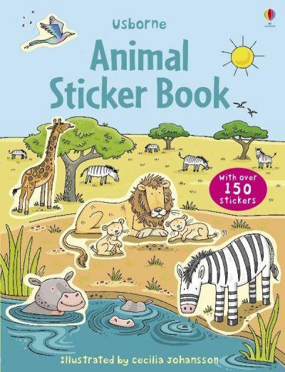 Usborne-First Sticker Book Animals