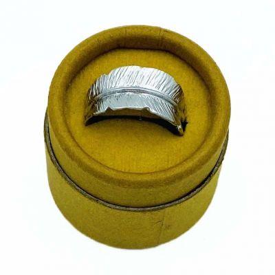 FRIIHOFSIIG Ring Fjer Sølv