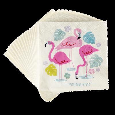RL Napkins (Pack of 20) Flamingo Bay