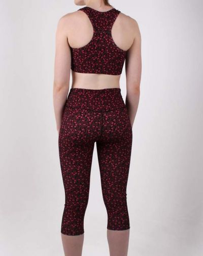ESS - Bamboo 3/4 leggings Dark Navy FLEURIE