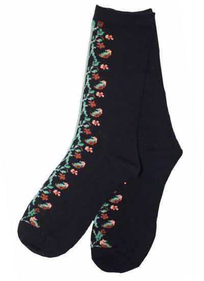 Pico CPH Flower Sock Black