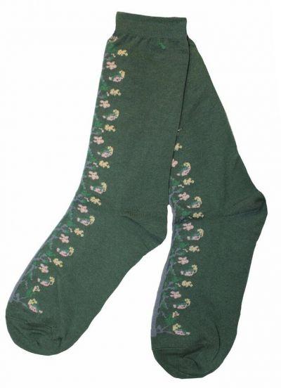 Pico CPH Flower Sock Green