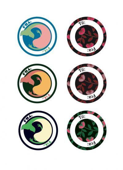Stickers Til og fra