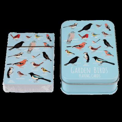 RL Playing Cards Garden Birds