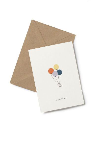 Kartotek Kort Balloons