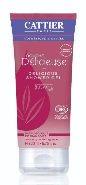 Cattier Delicious Shower Gel Raspberry
