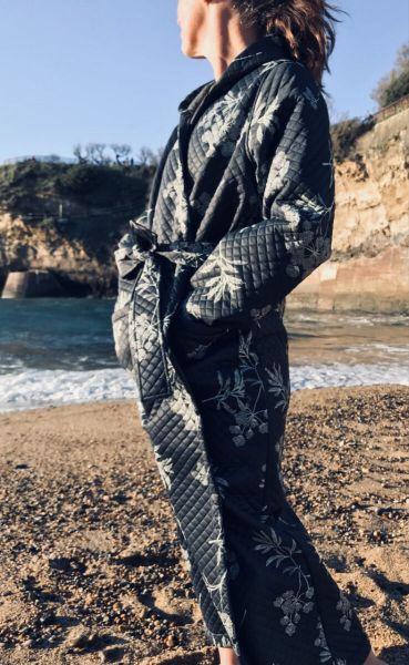Viking Robe Dk Grey HEMLOCK