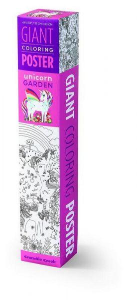 Joytoy Giant Coloring Poster Unicorn Garden
