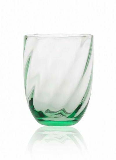 Anna Von Lipa Swirl Tumbler Glas Beryl