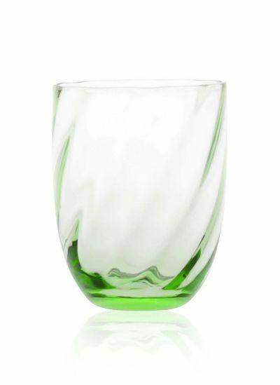 Anna Von Lipa Swirl Tumbler Glas Light Green