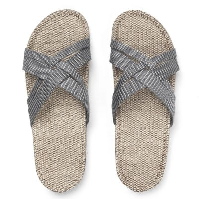 Shangies Women Grey Stripes