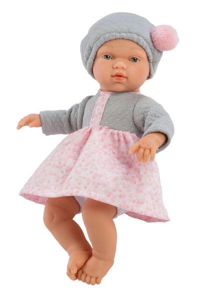 Andemor Babydukke Gugu 25cm Flores Mini Rosa