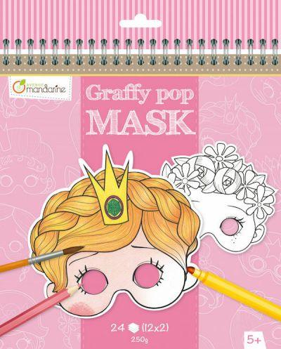 Avenue M Graffy Pop Mask Girls