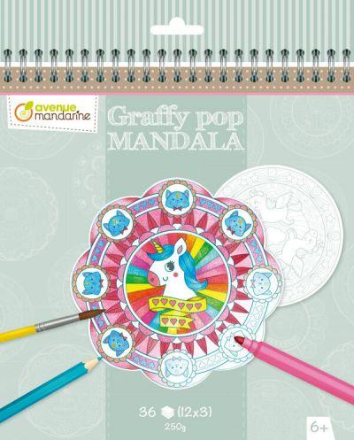 Avenue M Graffy Pop Mandala Magic