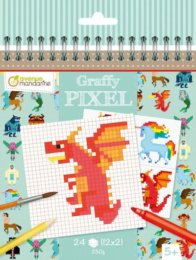 Avenue M Graffy Pixel Fantastic Creature