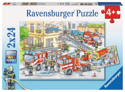 Ravensburger 2x24 Brk Heroes in action