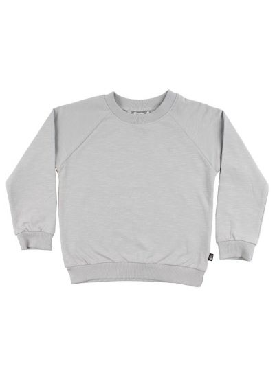 ESS - ORGANIC Mineral Sweater Light Grey