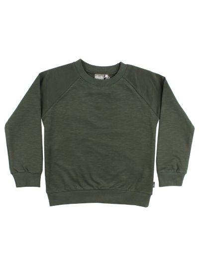 ESS - ORGANIC Mineral Sweater Army