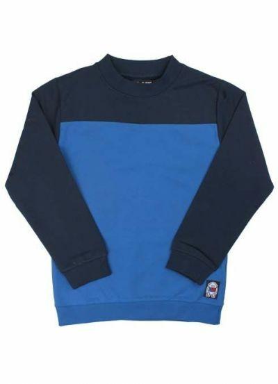 Bob Sweatshirt Navy/Proud Blue