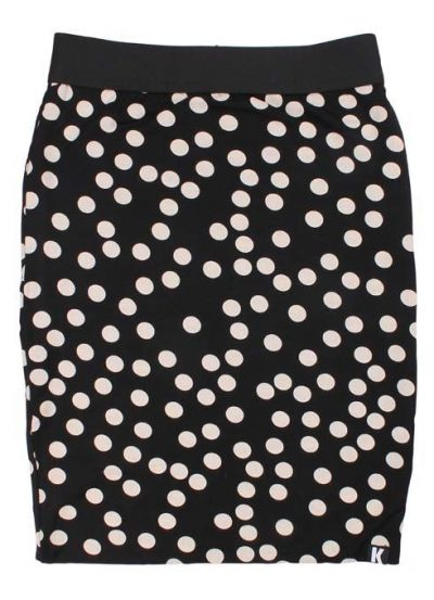 Mini Betsy Skirt Black/Offwhite