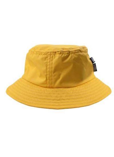 Kids Rain Hat Dark Yellow