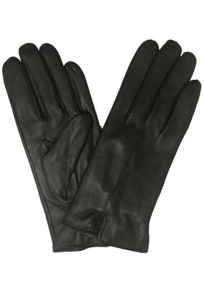 Rhanders Lamb Fleece Handsker Black