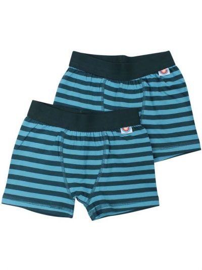 BIFROST - 2Pak Underwear Boys Dark Duck/Aqua Ice