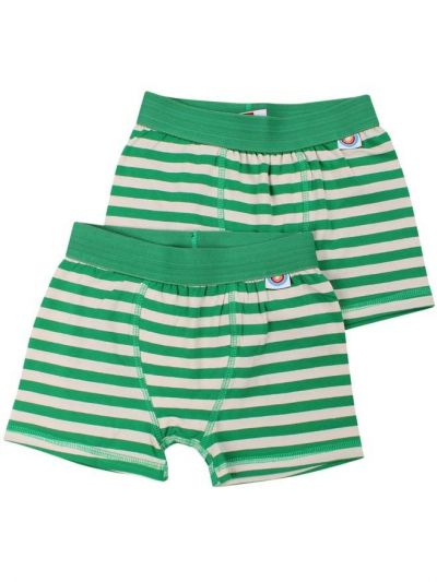 BIFROST - 2Pak Underwear Boys Green/Chalk