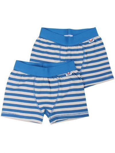 BIFROST - 2Pak Underwear Boys VINTAGE BLUE/CHALK