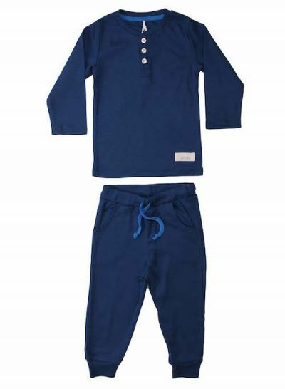SNORK X-MAS LS Pyjamas Midnight Blue