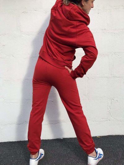 ESS - ORGANIC Detox Sweatpants  Dk Rust