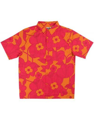 Tikifar Shirt Honey/dk fuchsia BLOOM BOOM