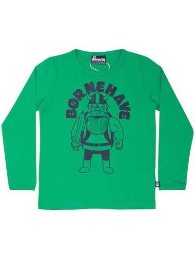 BASIC Longsleeve Soft Green BØRNEHAVE