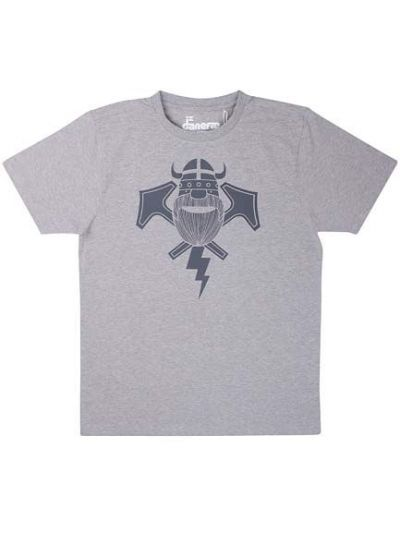Mande Tee Heather Grey THORBOLT