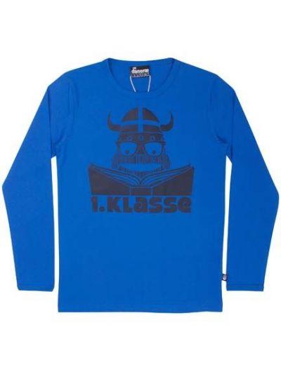 BASIC Longsleeve Shy blue 1. KL