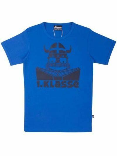 BASIC Shortsleeve Shy blue 1. KLASSE
