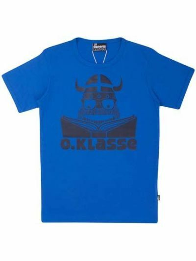 BASIC Shortsleeve Shy blue 0. KLASSE