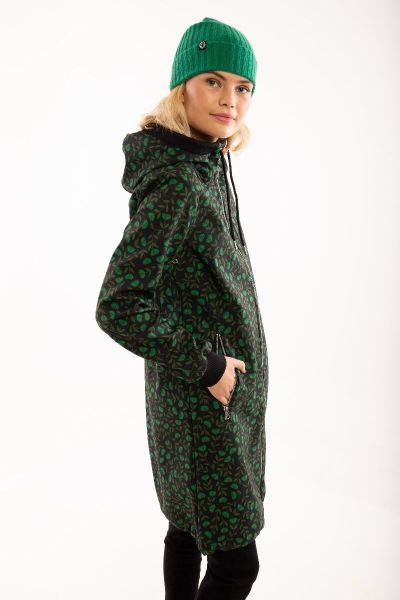 Jane Softshell Black/khaki Fleurie