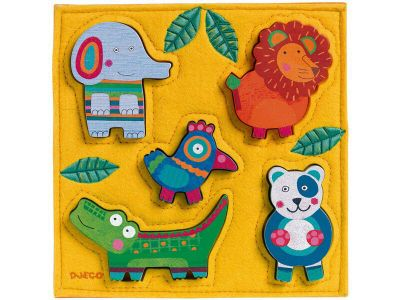 Djeco Puzzle Junga Animals