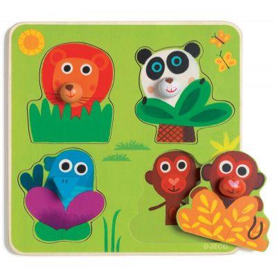 Djeco Puzzle Junglamino Animals