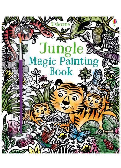 Usborne-Magic Painting Book Jungle