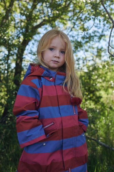 Kirstine Midseason Jacket Icy Hot