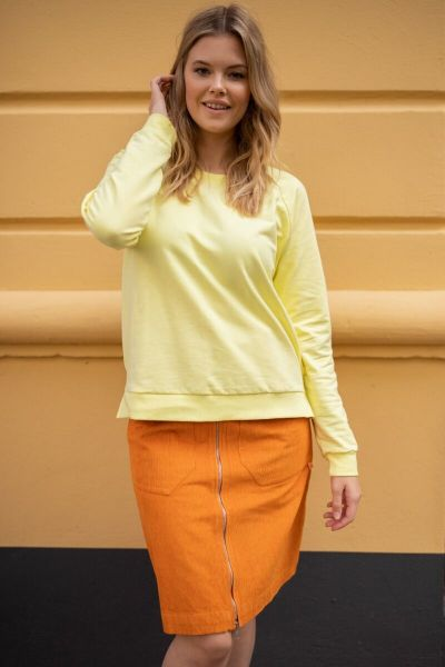 ORGANIC - Larsen Sweat Light Lemon