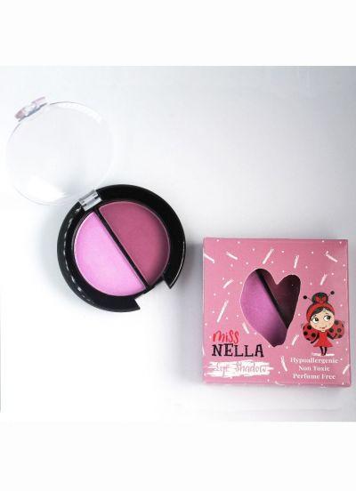 Miss Nella-Eyeshadow Duo Lavender Fields