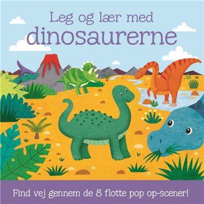 Carlsen-Leg og Lær-8 Pop-Up Scener Dinosaurerne